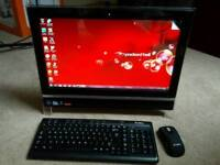 Packard bell onetwo m3700 all in one pc computer desktop 20 inch touchscreen