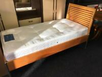 Single bed frame and mattress can deliver