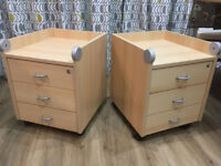 Drawers for office or bedside