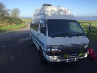 Toyota hiace high top campervan