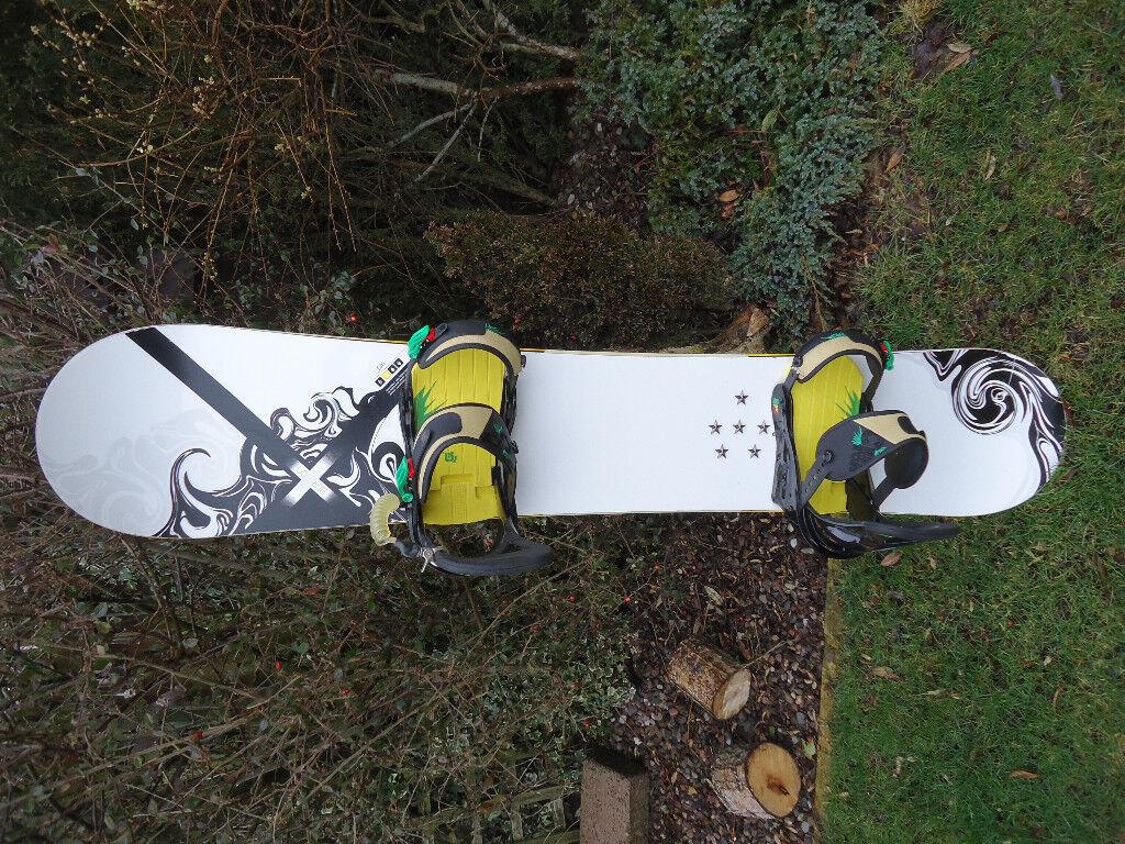 Burton Custom X Snowboard 158cm Brilliant Condition In Forfar Angus Gumtree
