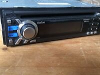 Clarion DB568RUSB CD/Radio unit plus fascia