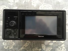Tomtom Sat Nav and Radio for Toyota Yaris 2011 with harness and fascia