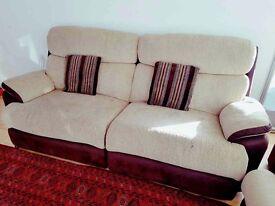 3 piece sofa set + free coffee table bundle