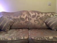 Laura Ashley 3 Seater Sofa & Chair
