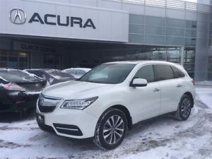 2015 Acura MDX TECH | NAVI | OFFLEASE | 2.9% | SUNROOF | NEWPADS