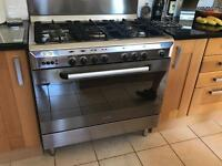 Baumatic 90cm Dual Fuel Cooker