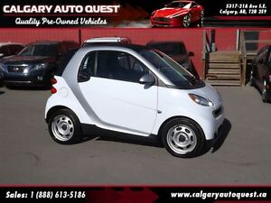 2012 smart fortwo pure LEATHER MUST SEE / LOW KM
