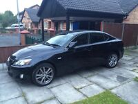 """Lexus IS 220d Sport (BEST spec - Black, 18"""" Alloys, Suede seats) ***REDUCED TO SELL***"""
