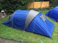 Pro Action 4 Man Tent 2 Bedroom Excellent Condition
