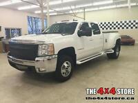 2008 Chevrolet Silverado 3500 CREW LEATHER LOADED 4X4 DUALLY DIE