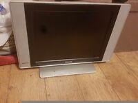 Broken philips tv