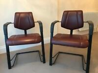 HAG Credo genuine leather office chairs