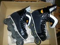 Hockey roller blades used 3 times