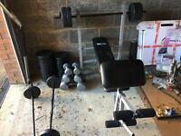 Full weight bench weight