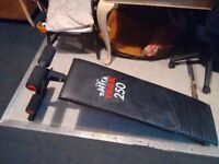 York 250 sit up bench, home gym, fitness cross fit equipment