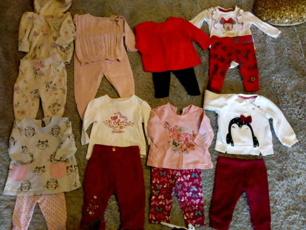 34f1bf9c0 All you need. Gorgeous bundle 0-3 baby girls clothes