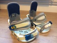 Burton snowboard bindings size S/M £20