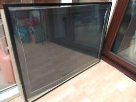 Large display frame