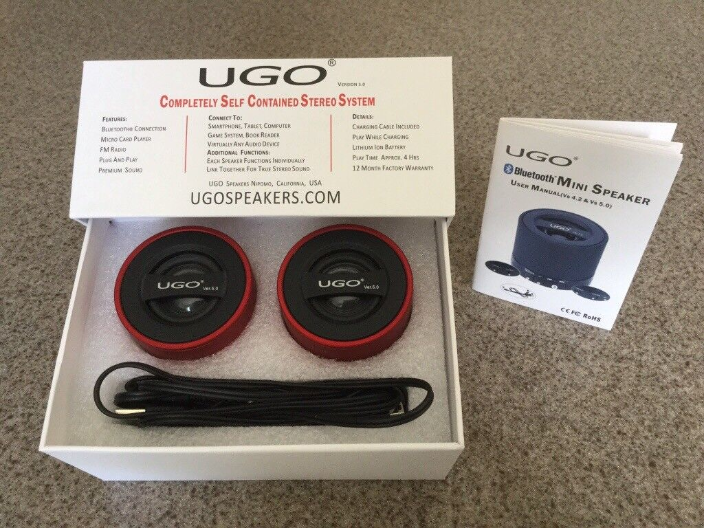 Ugo Wireless Speakers In Market Deeping Cambridgeshire Gumtree How To Wire Together