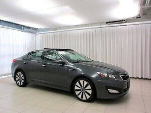 2012 Kia Optima SXT T-GDI TURBO SEDAN w/ PADDLE SHIFTERS, MUD GU