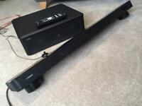 Yamaha YSP 2200 soundbar and subwoofer Home cinema system