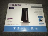 Netgear n300 wireless modem router