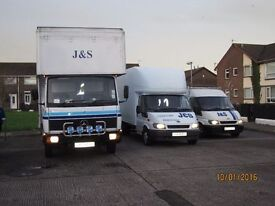 J&S FURNITURE REMOVALS AND DELIVERIES , LOCAL , CROSS BORDER , CROSS CHANNEL