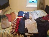 Designer Bundle of lads clothes 12-13 years