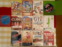 Nintendo Wii With HDMI Connector 2x Controllers & 13 Games