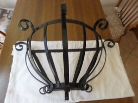 Wrought Iron Plant Container