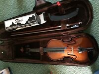 Stentor Violin ¼ and shoulder rest.