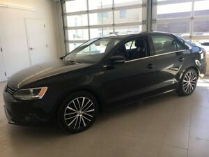 2014 Volkswagen Jetta TDI HIGHLINE - DIESEL LEATHER SEATS SUNROO