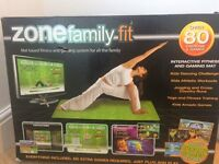Zone family fit mat based fitness and games