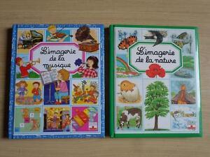 L'IMAGERIE, 2 livres pour enfants