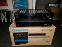 ONKYO TX NR 414 AV RECIEVER HOME CINEMA