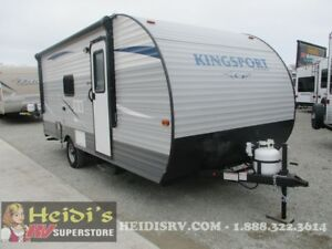 2018 KINGSPORT GULF STREAM 198BH - BUNKS