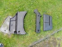 bmw e36 convertible boot trays complete set