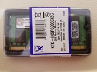 2GB DDR2 RAM SODIMM PC2 LAPTOP DESKTOP MEMORY KINGSTON NEW BOXED