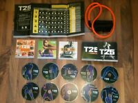 Beachbody insanity T25 alpha and beta fitness discs complete set