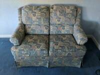 3 piece suite - 2 seater sofa & 2 arm chairs