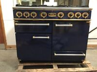 Falcon range cooker navy blue good condition , professional quality, clean,Rep £3k+ !