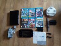 Wii u + 6 games