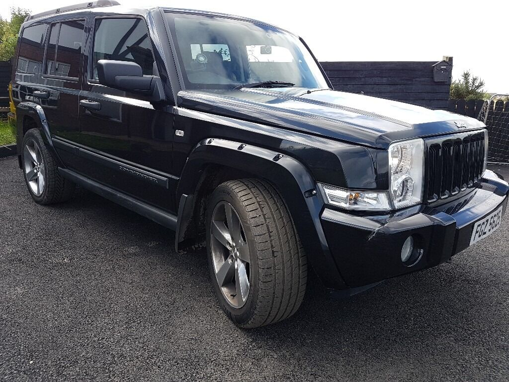 Jeep Commander Predator Black 7 Seater Ltd Edition Bmw Patriot Pathfinder Landrover Range