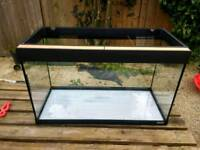 Fluval 120L fish tank