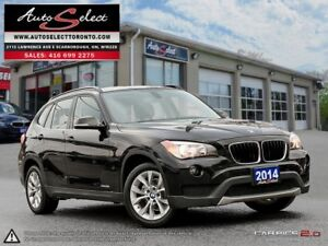 2014 BMW X1 xDrive28i AWD ONLY 89K! **CLEAN CARPROOF** PREMIU...