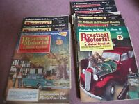 Old practical car and motor cycle magazines for sale