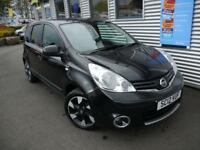 NISSAN NOTE 1.5 N-TEC PLUS DCI 5d 89 BHP **£20 ROAD TAX* (black) 2012