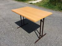 Camping/caravan/motorhome fold down table. Used once GOOD CONDITION!