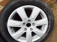VW PASSAT B6 05-10 16' ALLOY WHEEL SET & TYRE 2055516 set of 4